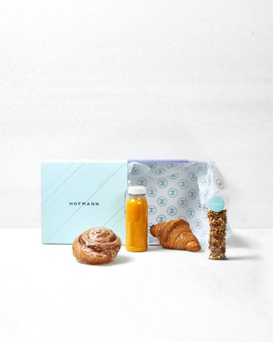 Pack de desayuno a domicilio.